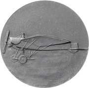 Medal - Death of flying ace Oswald Bölcke – reverse