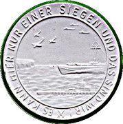 Medal - War at sea against England – obverse