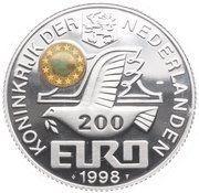 200 Euro (London) – obverse