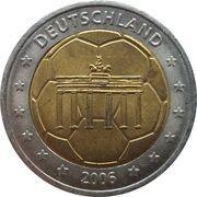 2 (Germany Euro Fantasy Token) – obverse