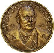Medal - Reichsmarschall Hermann Göring – obverse
