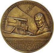 Medal - Reichsmarschall Hermann Göring – reverse