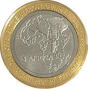 4500 Francs CFA / 3 Africa – reverse