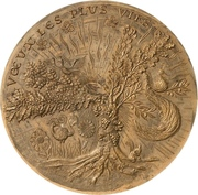 Medal - New years medal – obverse