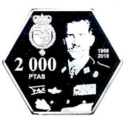 2000 Pesetas - Felipe VI (50th Anniversary) – obverse