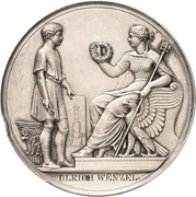 Prize medal - Technical University Berlin (Prussia) – reverse