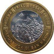 1 Euro (San Marino Euro Fantasy Token) – obverse