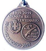 Medal - 92° Adunata Nazionale Alpini – reverse