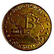 Belgian Heritage Collectors Coin - Zoo Antwerpen – reverse