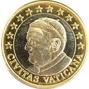1 (Vatican City Euro Fantasy Token) – obverse