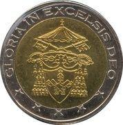 2 (Vatican City Euro Fantasy Token) – obverse