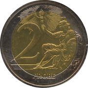 2 (Vatican City Euro Fantasy Token) – reverse