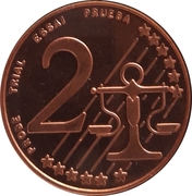 2 Cent (Cyprus Euro Fantasy Token) – reverse