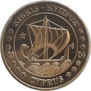10 Cent (Cyprus Euro Fantasy Token) – obverse