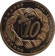 10 Cent (Cyprus Euro Fantasy Token) – reverse