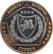 1 Euro (Cyprus Euro Fantasy Token) – obverse