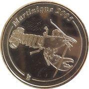 50 Cent (Martinique Euro Fantasy Token) – obverse