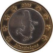 1 Euro (Martinique Euro Fantasy Token) – obverse