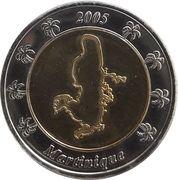 2 Euro (Martinique Euro Fantasy Token) – obverse