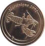 10 Cent (Martinique Euro Fantasy Token) – obverse