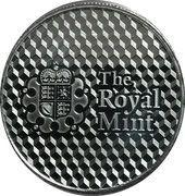 1 Oz Silver (Royal Mint Center Shield) – reverse