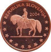 1 Cent (Slovenia Euro Fantasy Token) – obverse