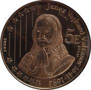 5 Euro (Slovenia Euro Fantasy Token) – reverse
