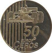 50 Europ Ceros (Switzerland Euro Fantasy Token) – reverse