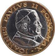 2 Euro (Vatican City Euro Fantasy Token) – obverse
