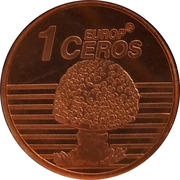 1 Europ Ceros (Iceland Euro Fantasy Token) – reverse