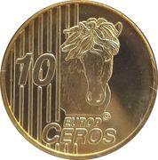 10 Europ Ceros (Iceland Euro Fantasy Token) – reverse