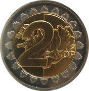 2 Europ (Iceland Euro Fantasy Token) – reverse
