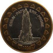 1 Europ (Iceland Euro Fantasy Token) – obverse