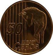 50 Europ Ceros (Iceland Euro Fantasy Token) – reverse
