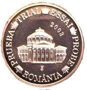 2 Cent (Romania Euro Fantasy Token) – obverse