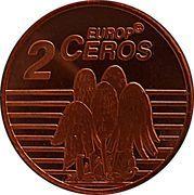 2 Europ Ceros (Iceland Euro Fantasy Token) – reverse