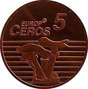 5 Europ Ceros (Iceland Euro Fantasy Token) – reverse