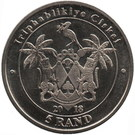 5 Rand (Parrot) – obverse