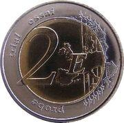 2 E (Corsica Euro Fantasy Token) – reverse