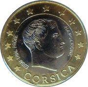 2 E (Corsica Euro  Fantasy Token) – obverse