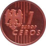 1 Europ Ceros (Bulgaria Euro Fantasy Token) – reverse