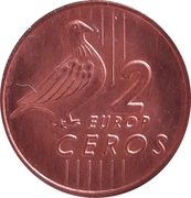 2 Europ Ceros (Bulgaria Euro Fantasy Token) – reverse