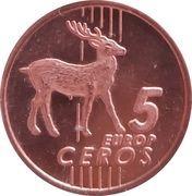 5 Europ Ceros (Bulgaria Euro Fantasy Token) – reverse