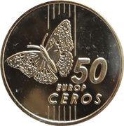 50 Europ Ceros (Bulgaria Euro Fantasy Token) – reverse
