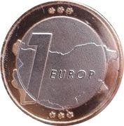 1 Europ (Bulgaria Euro Fantasy Token) – reverse