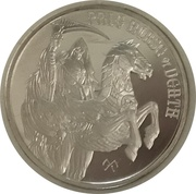 1 oz Silver (Pale Horse of Death) – obverse