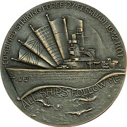 Medal - Allied forces in the java sea – obverse