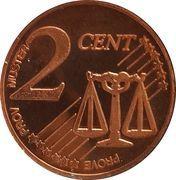 2 Cent (Estonia Euro Fantasy Token) – reverse
