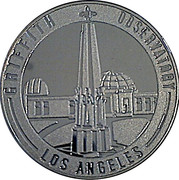 Token - Los Angeles (Griffith Observatory) – obverse