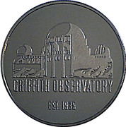 Token - Los Angeles (Griffith Observatory) – reverse
